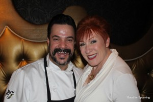 Chef Mike Minor and me.