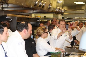 The Chefs were just as giddy as I was I think.  Yes, it was that cool!