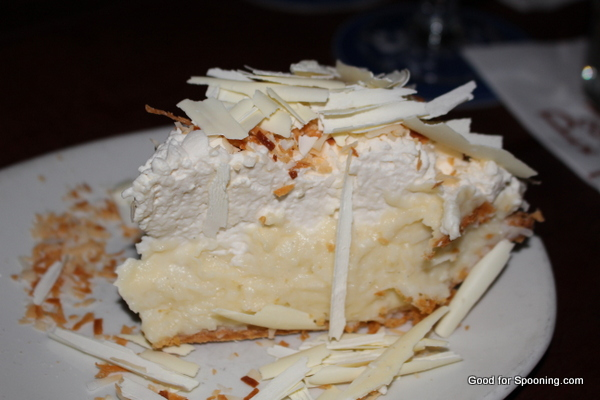Coconut Cream Pie at Palace Kitchen