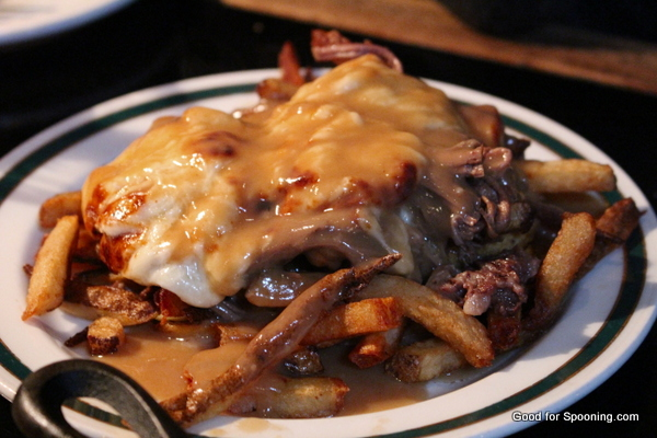 Poutine with brisket
