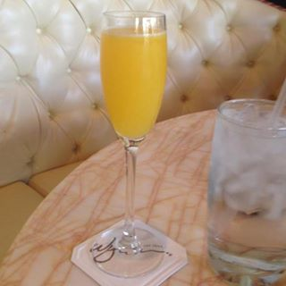 Terrace Point Cafe Mimosa - photo by Apryl Lyttle