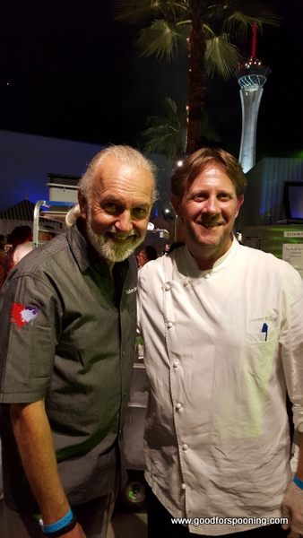 Chefs Hubert Keller and Laurent Pillard