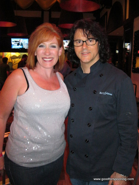 Kerry & I at KGB for the kick off of Restaurant Week in 2010