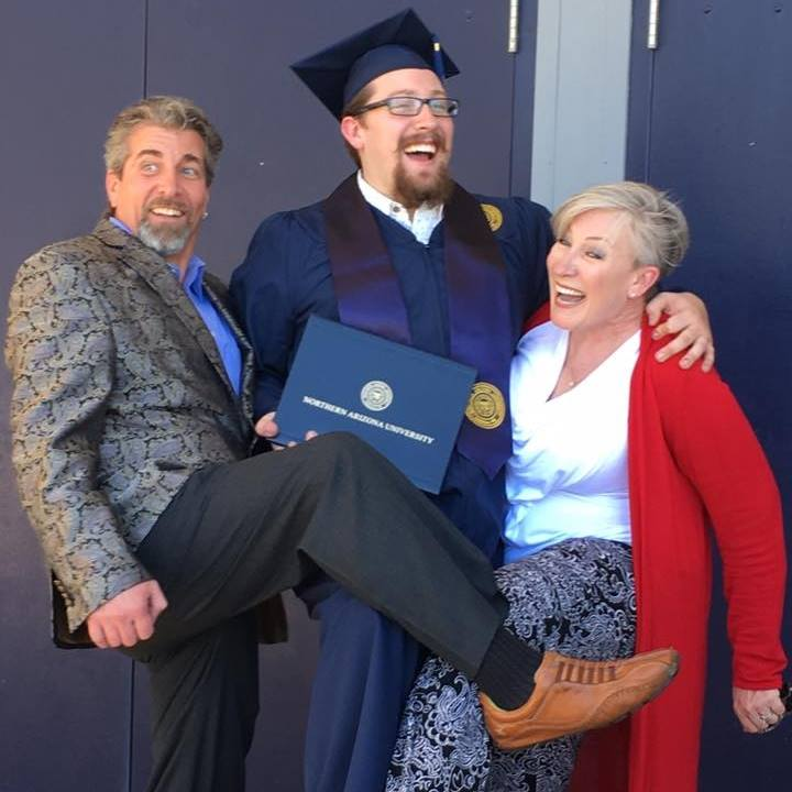The Graduate and the proud parents!
