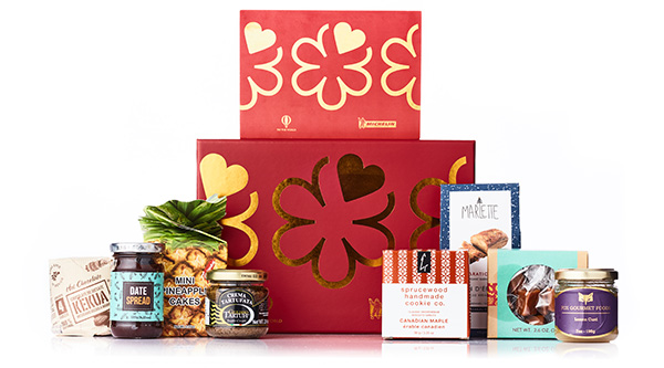 This pic of their Holiday Box borrowed from Try the World