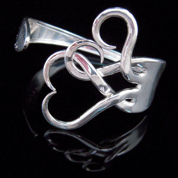 Twisted Fork Bracelet by MarcelloArt on Etsy