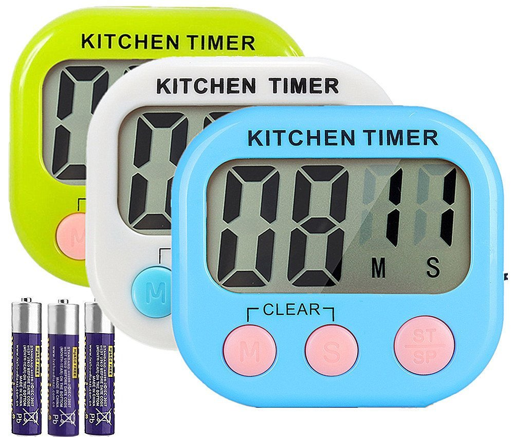 Kitchen Timers available on Amazon - give the gift of time