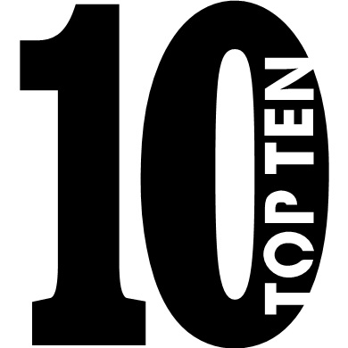 Top 10 for 2018
